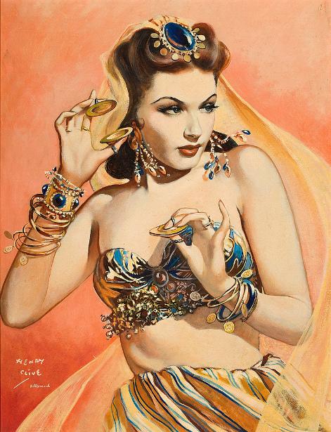 Yvonne de Carlo as Mata Hari