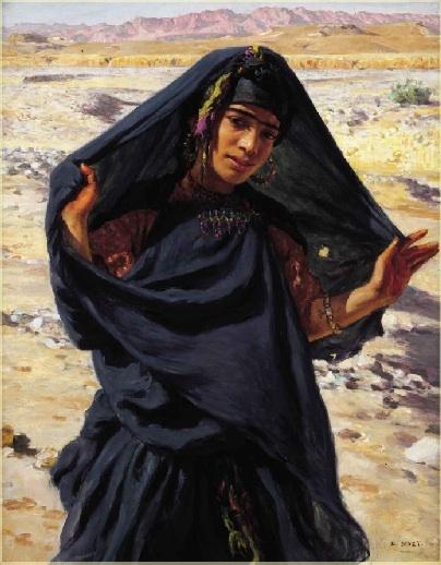Jeune fille de Bou-Saâda