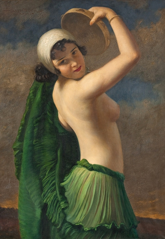 Dancer with Tambourine